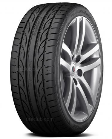 245//35ZR21 R21 Hankook Ventus V12 Evo2 K120 96Y XL BSW Tire