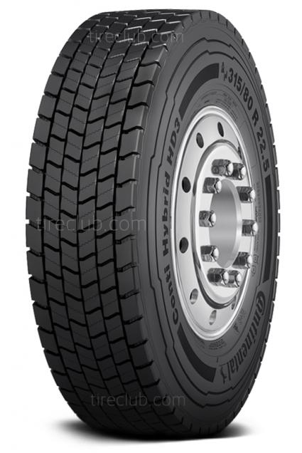 Continental Conti Hybrid HD3 (Tread B) tires