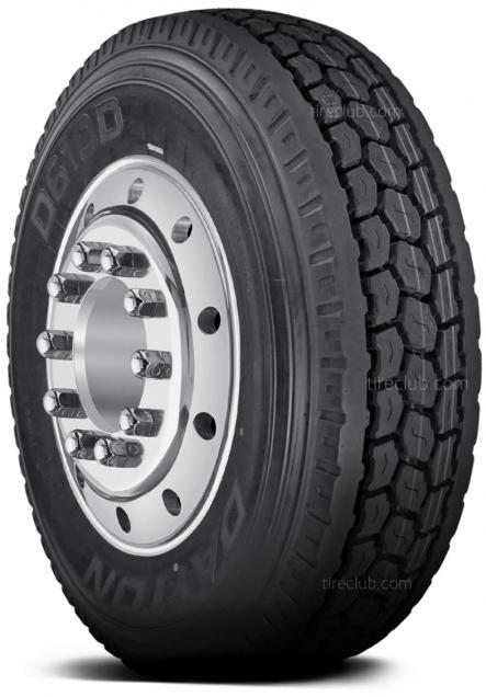 Dayton D610D tires