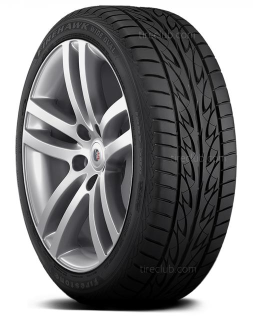 Firestone Firehawk Wide Oval Indy 500 tires