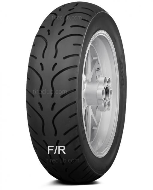 Mitas MC 7 tires