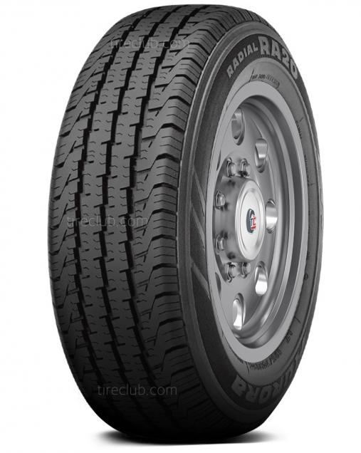 Aurora RA20 tires