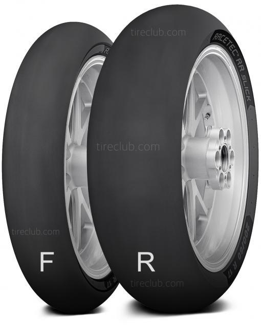 Metzeler Racetec RR SLICK tires