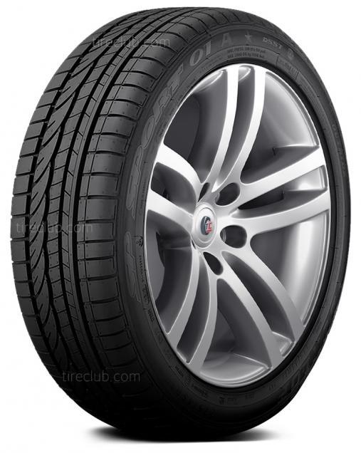 Dunlop SP Sport 01 A DSST ROF tires