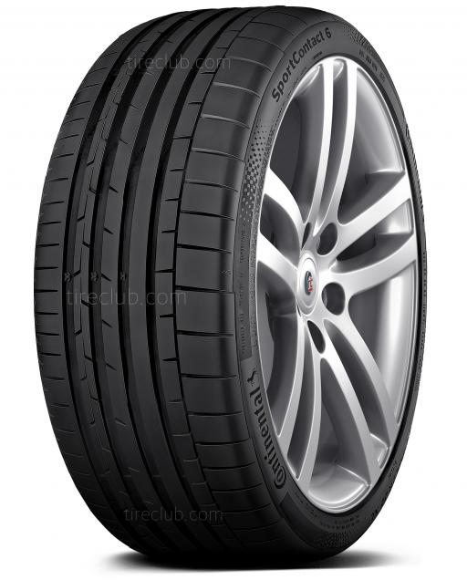 Continental SportContact 6 tires