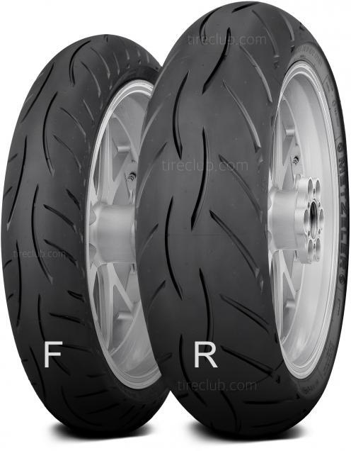 Metzeler Sportec M5 Interact tires