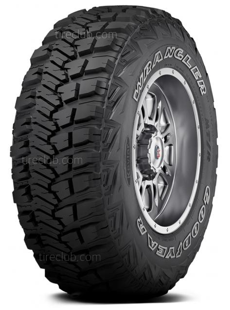 llantas Goodyear Wrangler MT/R with Kevlar