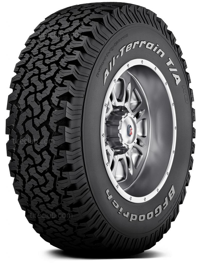 BFGoodrich All-Terrain T/A KO tires