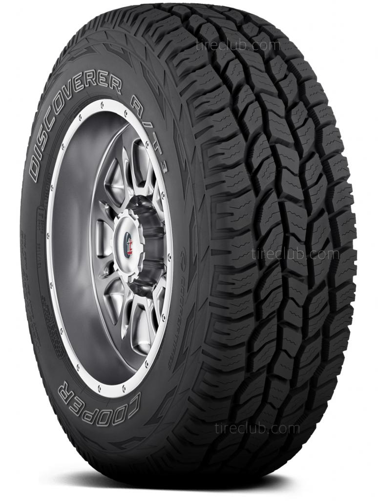 Cooper Discoverer A/T3 tyres