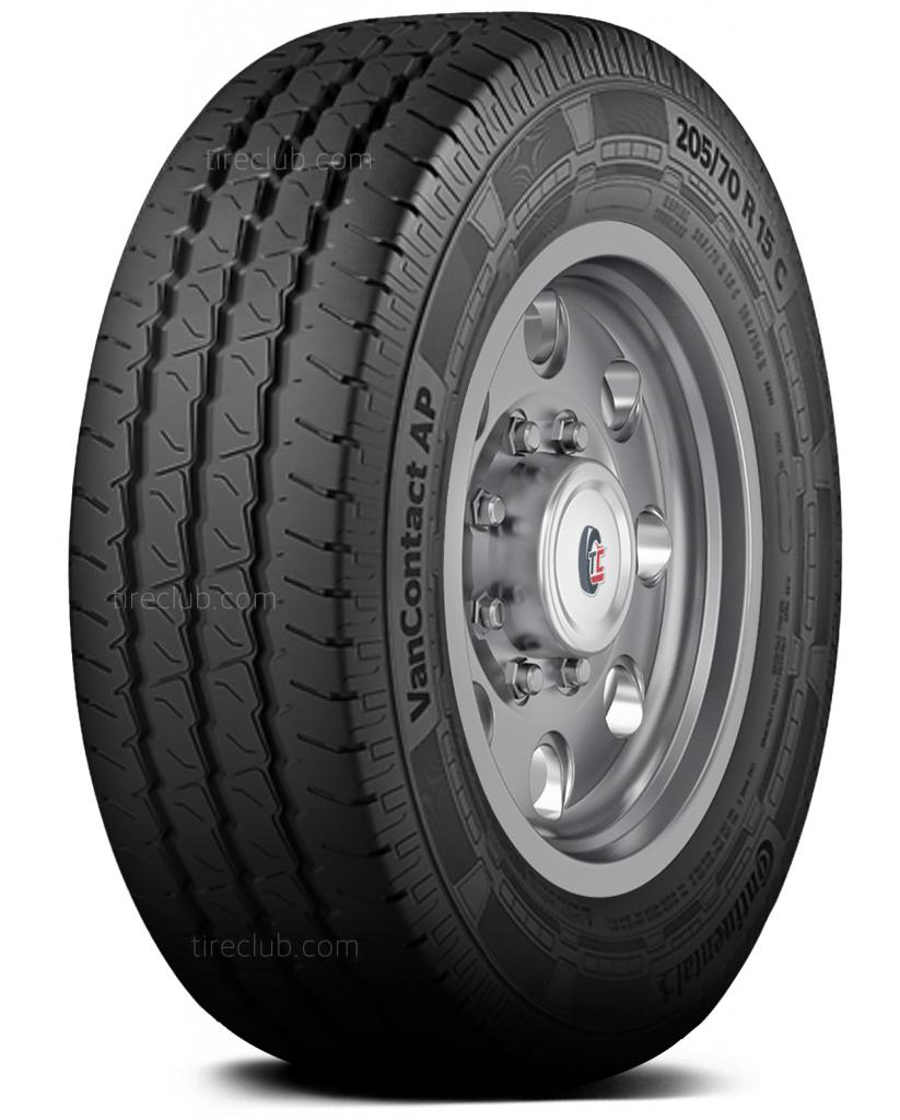 Continental VanContact AP tires